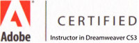 Certified DW CS3 instructor